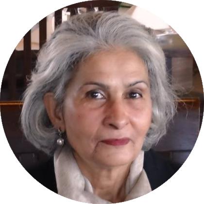 Shahida Fazil (circle)